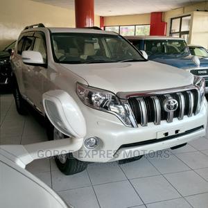 Toyota Land Cruiser Prado 2015 White   Cars for sale in Mombasa, Ganjoni
