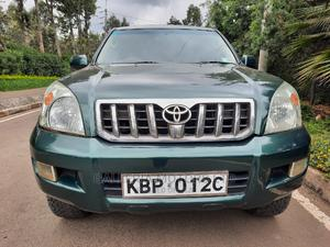 Toyota Land Cruiser Prado 2005 3.0 D-4d 5dr Green   Cars for sale in Nairobi, Karen