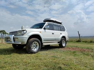 Toyota Land Cruiser Prado 2007 White | Cars for sale in Nakuru, Nakuru Town East