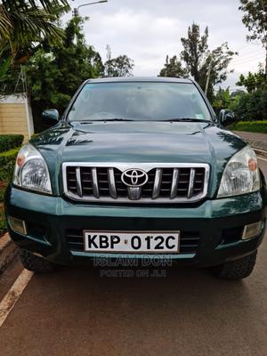 Toyota Land Cruiser Prado 2004 3.0 D-4d 5dr Green   Cars for sale in Nairobi, Karen