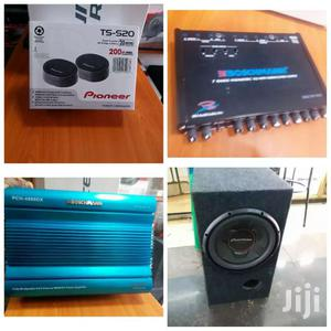 1300 Watts Car Setup With Amp Woofer Tweeters Equalizer | Audio & Music Equipment for sale in Nairobi, Nairobi Central