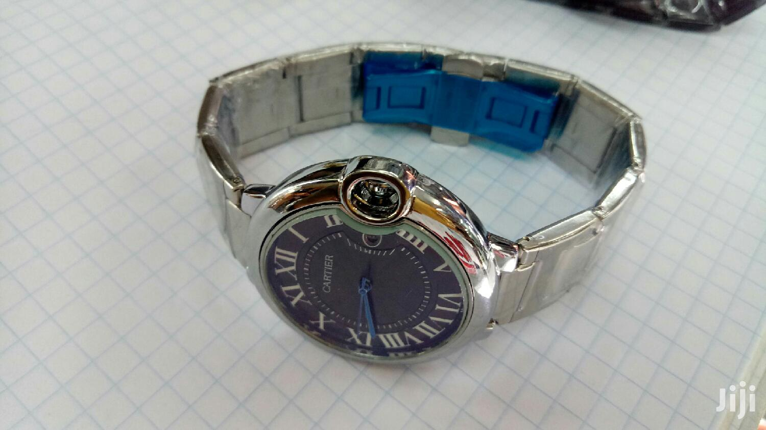 Archive: Gents Silver Cartier Watch