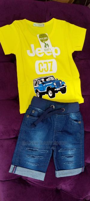 Kids Jeans Short + T-Shirt   Children's Clothing for sale in Nairobi, Nairobi Central