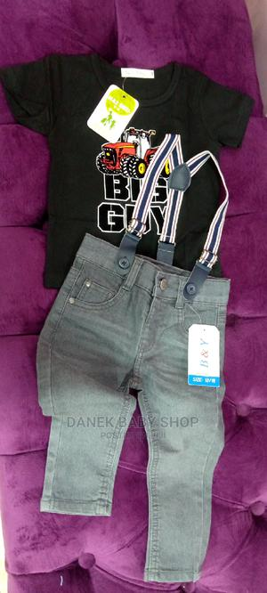 Jeans Short/T-Shirt/ Suspender/Jeans Trousers   Children's Clothing for sale in Nairobi, Nairobi Central