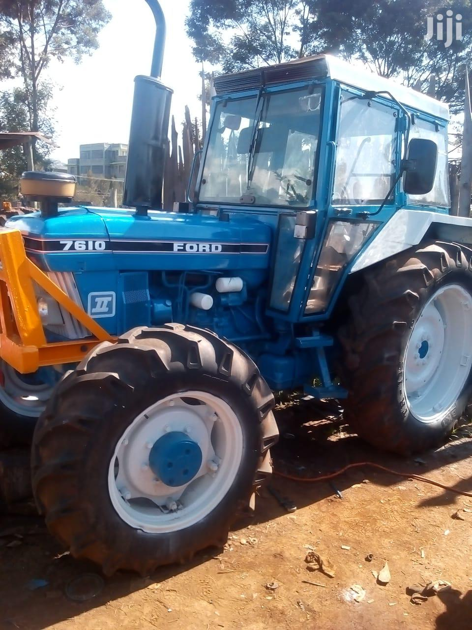 EX UK Ford 7610 Tractor