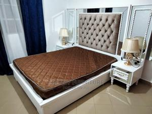 5*6 Modern Bed With Tufted Headboard Mirrored Sidedrawers   Furniture for sale in Nairobi, Kahawa