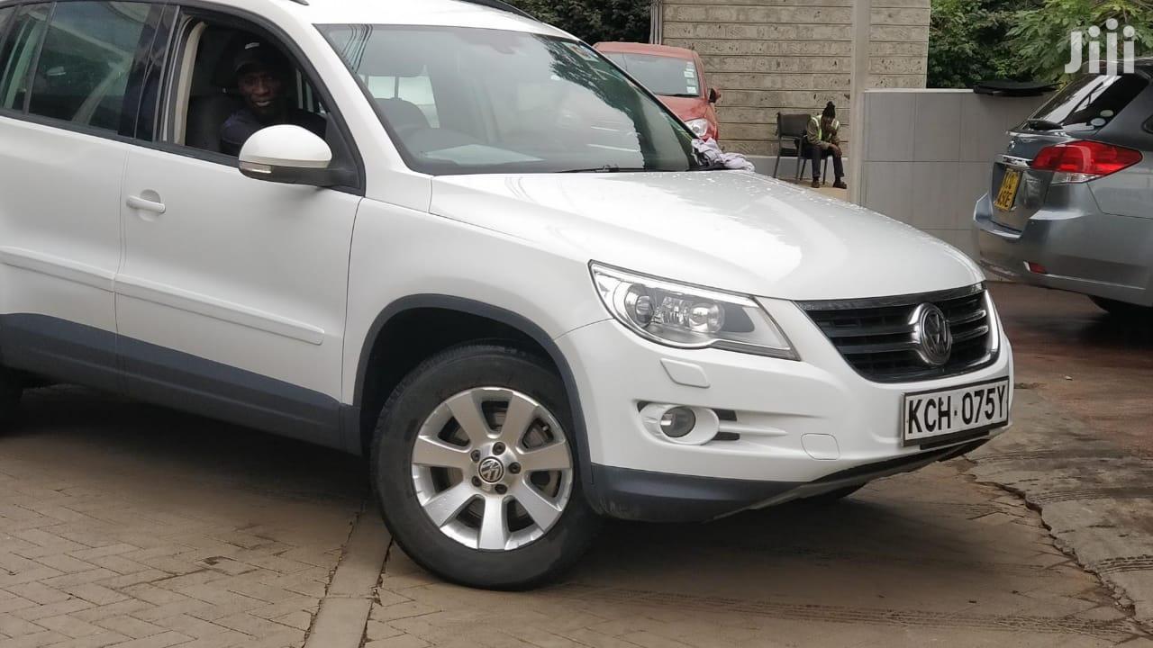 Volkswagen Tiguan 2.0 SE 2009 White | Cars for sale in Nakuru East, Nakuru, Kenya