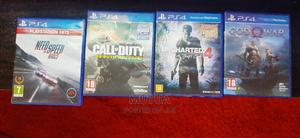 NFS Rivals, Call of Duty, Uncharted 4, God of War | Video Games for sale in Nairobi, Nairobi Central
