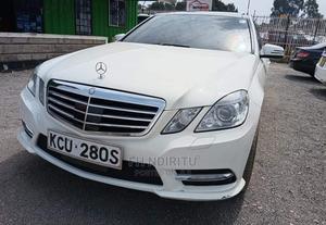 Mercedes-Benz E250 2012 White   Cars for sale in Nairobi, Nairobi Central