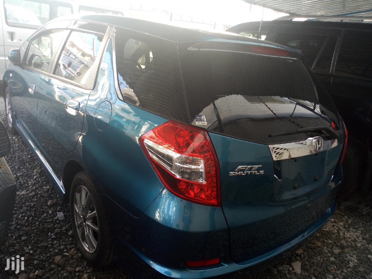 Archive: New Honda Fit 2013 Blue