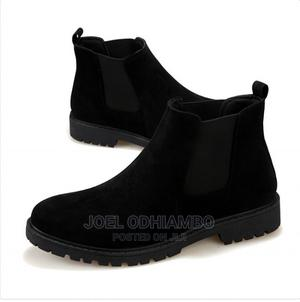 Black Suede Mens Chelsea Boots | Shoes for sale in Nairobi, Kahawa