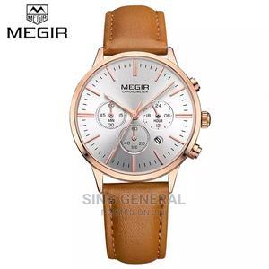 Megir Chronograph Ladies Leather Watch   Watches for sale in Nairobi, Nairobi Central