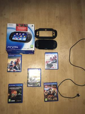 PS Vita Game Console Plus 5 Games   Video Game Consoles for sale in Nairobi, Karen
