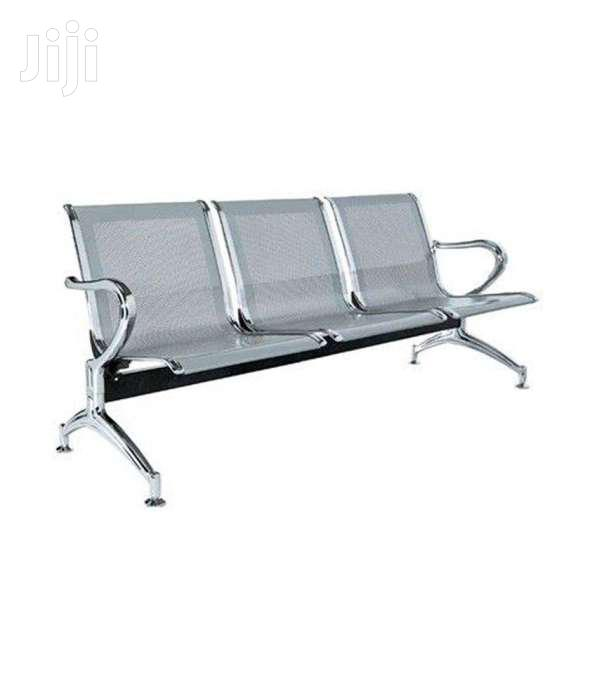 Office/ Reception/ Waiting Seat/ 3 Seat Waiting Bench | Furniture for sale in Nairobi Central, Nairobi, Kenya