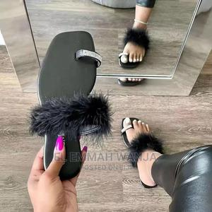 Fancy Fur Sandals | Shoes for sale in Nairobi, Nairobi Central
