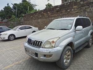 Toyota Land Cruiser Prado 2004 3.0 D-4d 5dr Silver   Cars for sale in Nairobi, Komarock