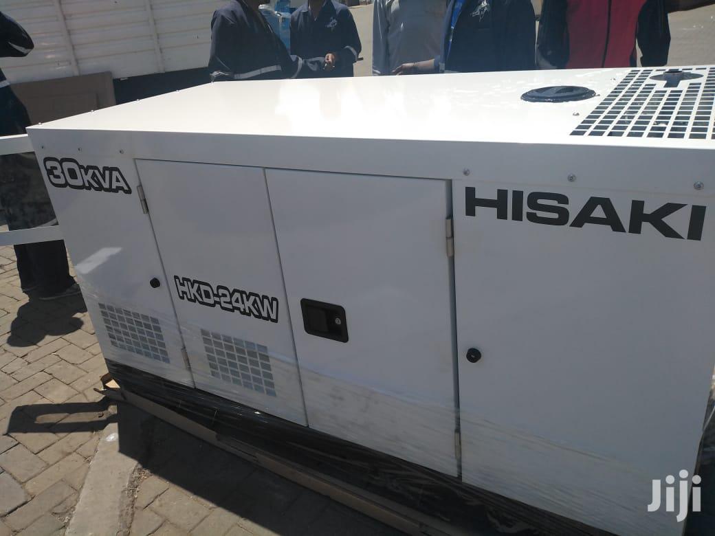 Hisaki 30kva/24kw Generator