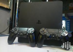 Ps4 Slim Ex Uk Used With 2 Controllers Warranty Offered   Video Game Consoles for sale in Nairobi, Nairobi Central