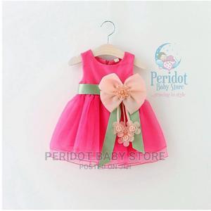 Elegant Quality Floral Girl's Dress-0-12m | Children's Clothing for sale in Kajiado, Ongata Rongai