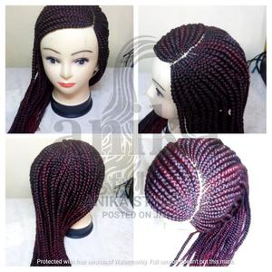 Ghanian Lines Braided Wig | Hair Beauty for sale in Nairobi, Baba Dogo