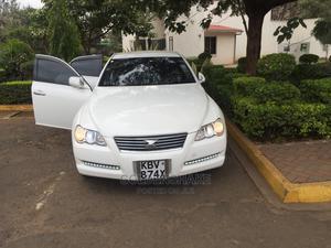 Toyota Mark X 2006 White | Cars for sale in Nairobi, Lucky Summer