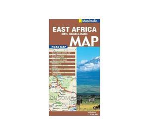 Road Map of East Africa - Map Studio   Books & Games for sale in Kajiado, Kitengela