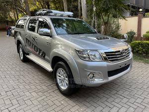 Toyota Hilux 2015 SR5 4x4 Silver   Cars for sale in Nairobi, Kilimani