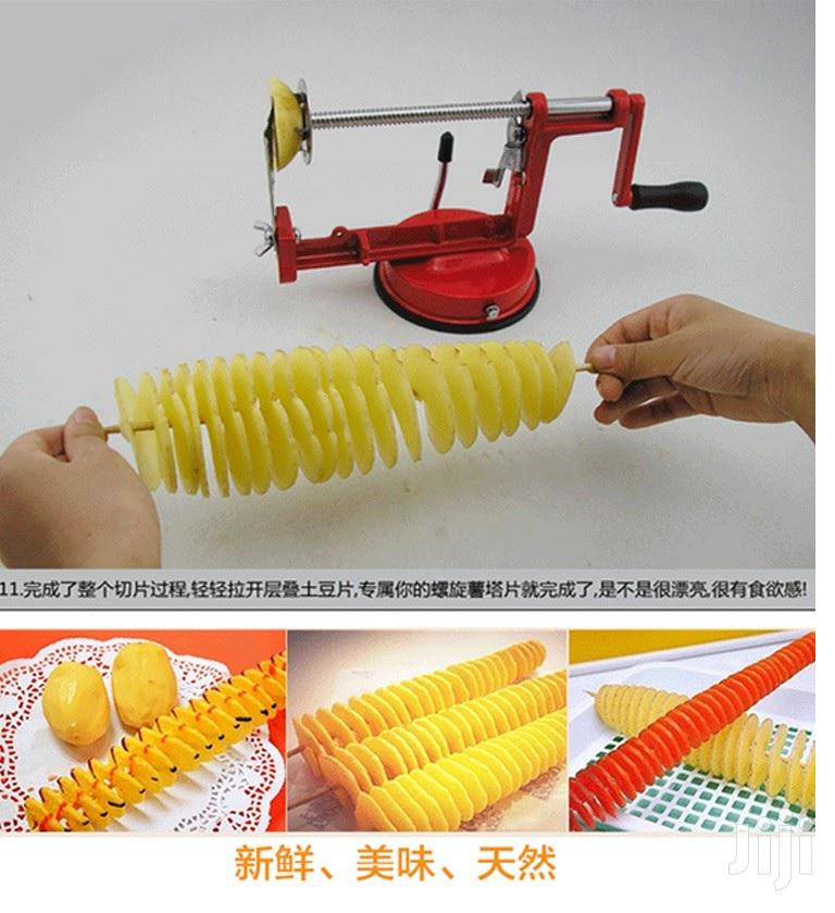 Archive: Spiral Potato Cutter Slicer Cutter Vegetable Fruit Chips