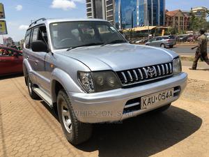 Toyota Land Cruiser Prado 2001 3.0 D-4d 5dr Silver   Cars for sale in Nairobi, Kilimani