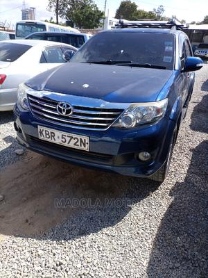 Toyota Fortuner 2008 Blue   Cars for sale in Mombasa, Kisauni