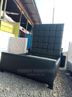 5*6 Tufted Bed With Extended Headboard   Furniture for sale in Nairobi, Kahawa