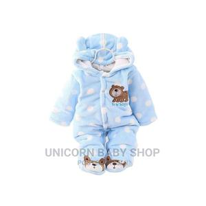 Fluffy and Warm Baby Rompers With a Hood (Baby Clothes) | Children's Clothing for sale in Nairobi, Karen