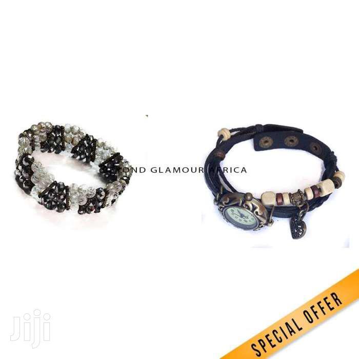 Bracelet Watch + Bracelet Combo   Watches for sale in Nairobi Central, Nairobi, Kenya