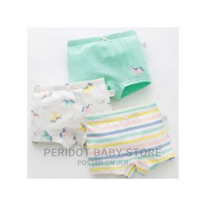 3pcs Set Kids Girls Underwear Pants/ Cotton Boxers | Children's Clothing for sale in Kajiado, Ongata Rongai