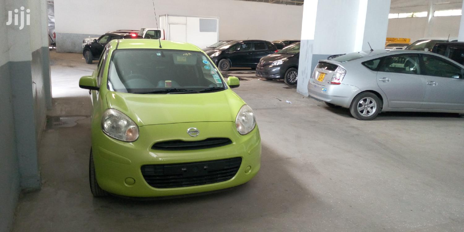 Nissan March 2013 Green