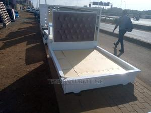 5*6 Modern Beds With Buttoned Headboard Bestseller Designs   Furniture for sale in Nairobi, Kahawa