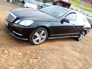 Mercedes-Benz E200 2012 Black   Cars for sale in Kiambu, Kiambu / Kiambu