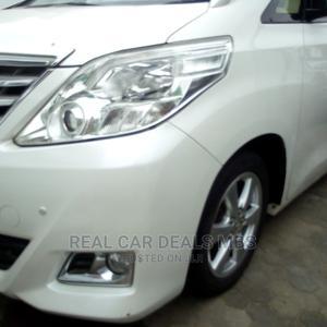 Toyota Alphard 2014 White   Cars for sale in Mombasa, Tudor