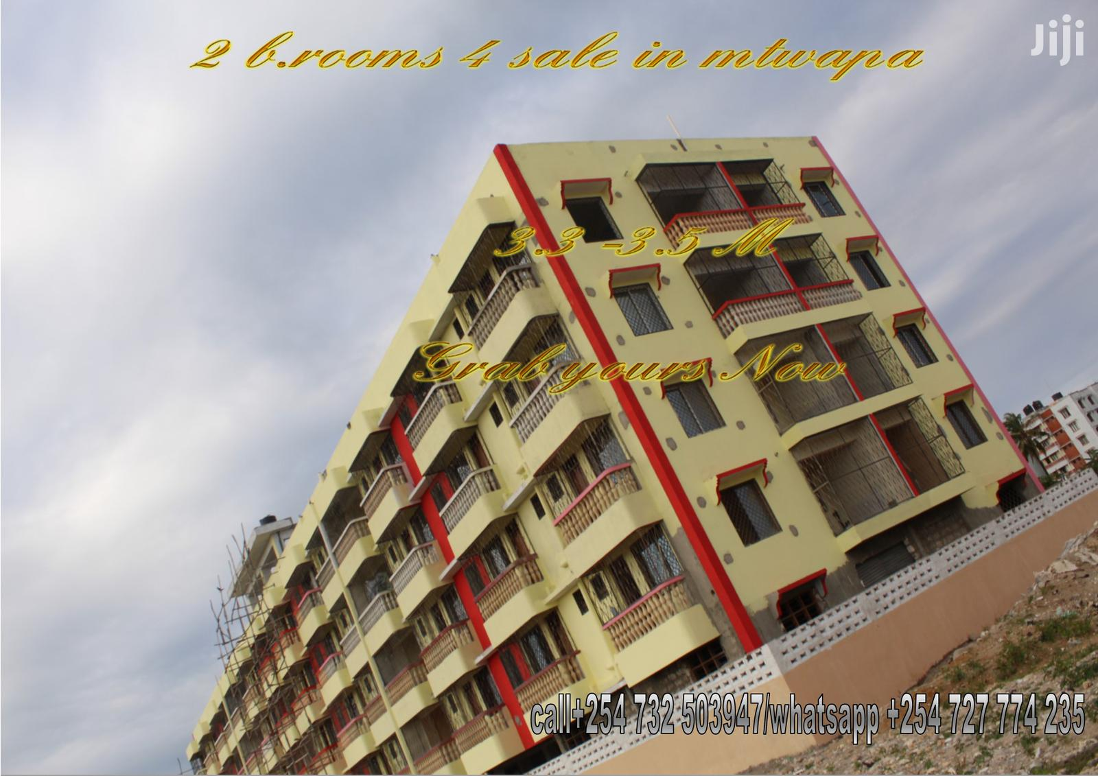 2 B.Rooms Apartments for Sale in Mtwapa
