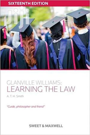 Learning the Law -Glanville Williams   Books & Games for sale in Nairobi, Nairobi Central