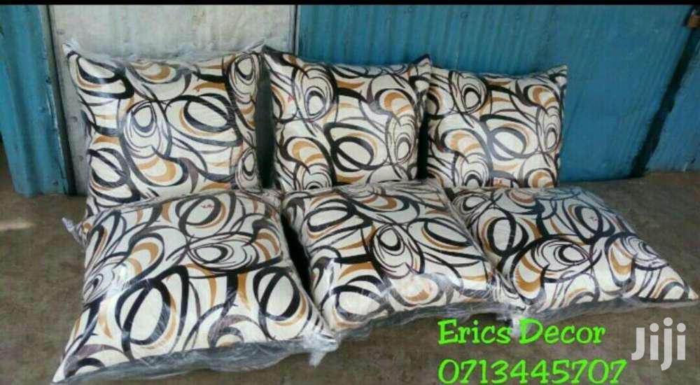 8 Piece Set Floor Cushions/Big Cushions/Puffs | Home Accessories for sale in Ziwani/Kariokor, Nairobi, Kenya