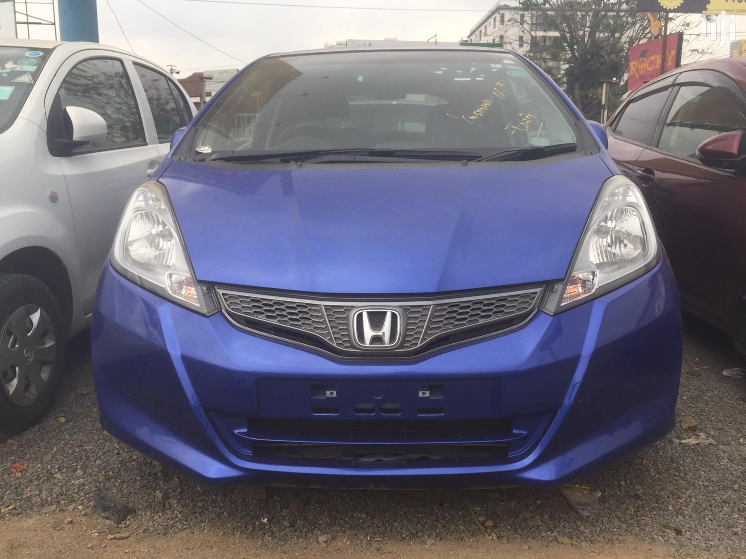 Honda Fit 2012 Automatic Blue