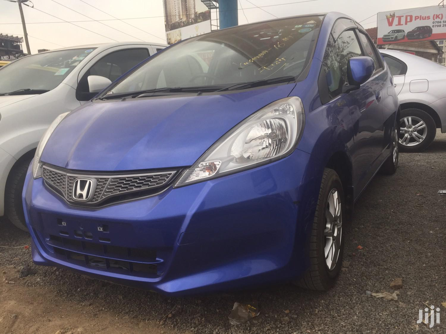 Honda Fit 2012 Automatic Blue | Cars for sale in Kilimani, Nairobi, Kenya