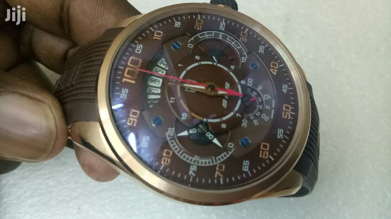 Mercedes-Benz Gold Watch