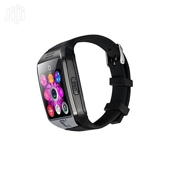 Smartwatch Q18 Smart Watch Phone - 0.8MP Camera – Single SIM | Smart Watches & Trackers for sale in Nairobi Central, Nairobi, Kenya