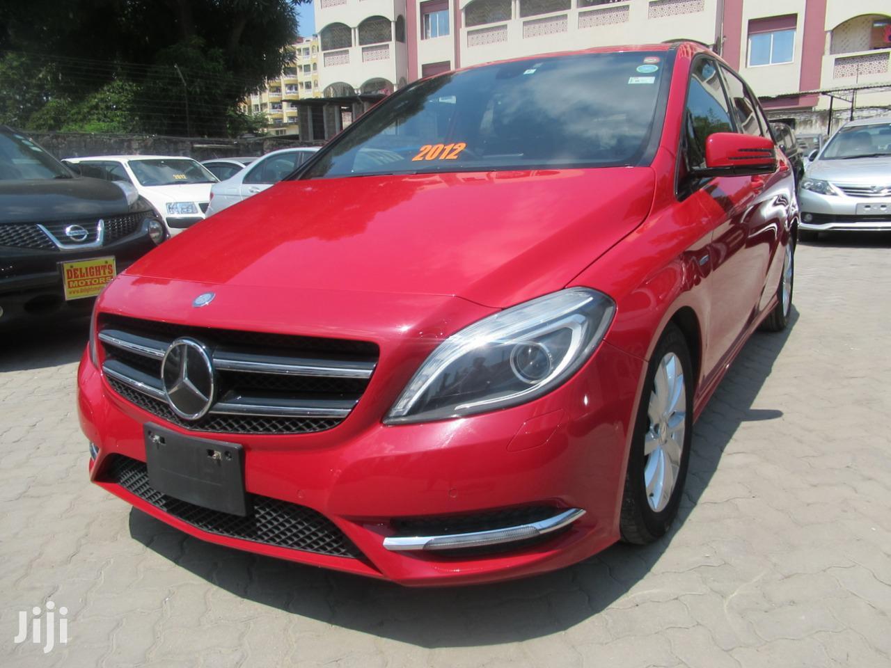 New Mercedes-Benz B-Class 2012 Red | Cars for sale in Mvita, Mombasa, Kenya