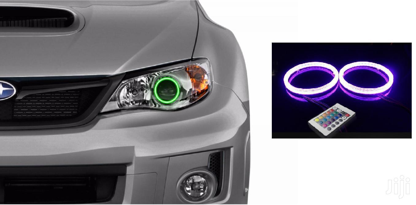 Remote Controlled LED Angel Eye Halos