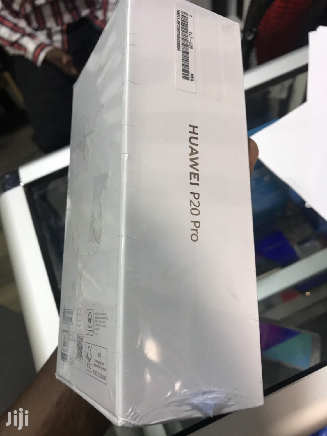 Archive: New Huawei P20 Pro 128 GB Black