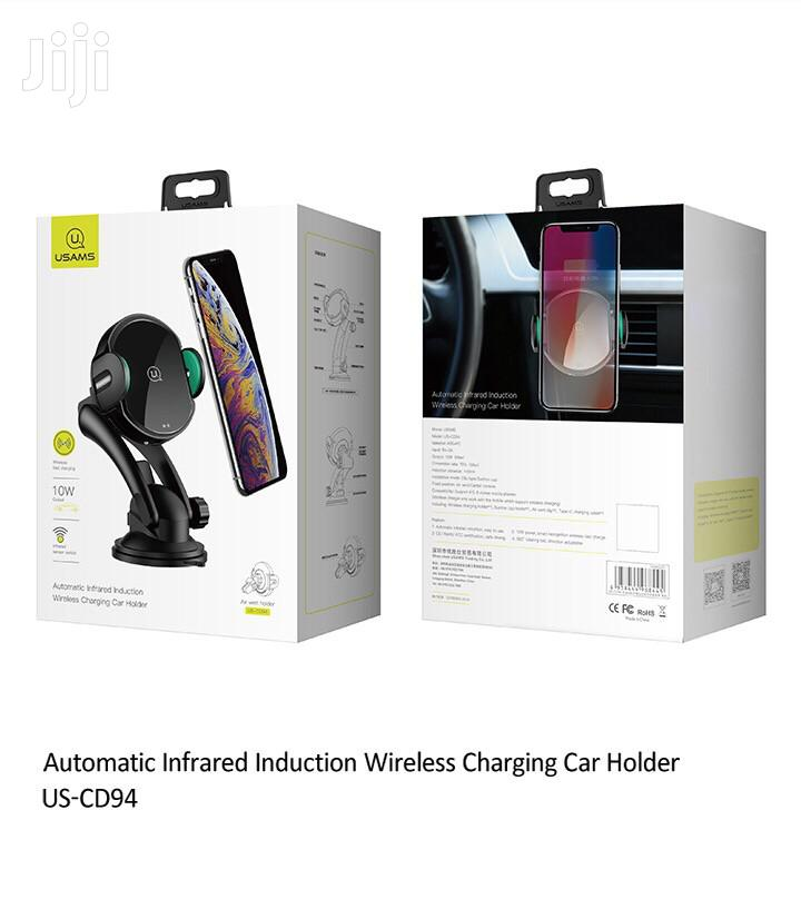 Usams US-CD94 Automatic Infrared Induction Wireless Charging