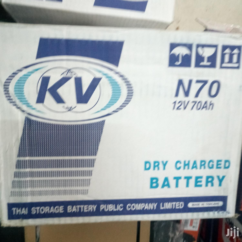 Battary N70   Vehicle Parts & Accessories for sale in Nairobi Central, Nairobi, Kenya